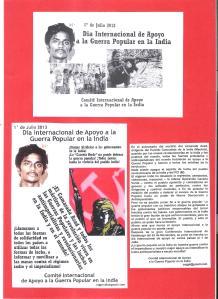 1 julio 2013 dia internacional apoyo guerra popular india