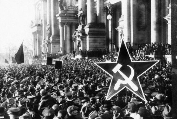 Communist Rally in Berlin in 1918