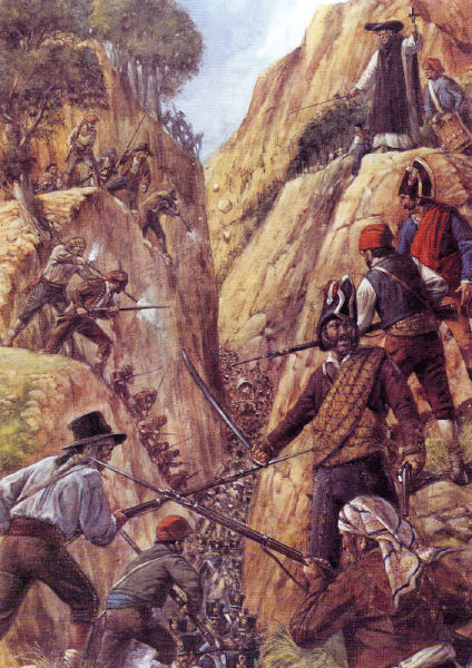 Resultado de imagen de imagenes guerrillas guerra independencia española