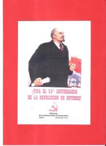 95 aniversario revolucion octubre