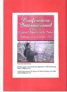 conferencia internacional india nov 2012