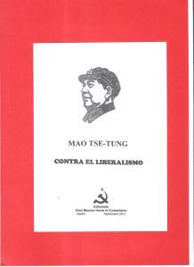 mao contra el liberalismo