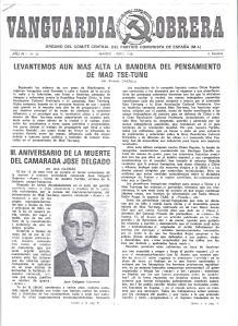 Vanguardia Obrera nº 35 portada